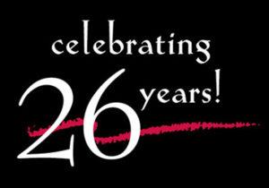 Celebrating 26 years!