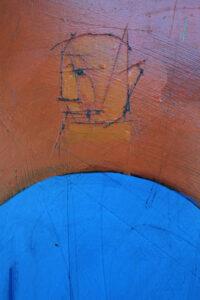"""Matrix"" by Michael Banks acrylic, mixed media on wood unframed 32.25"" x 48"" #13027"