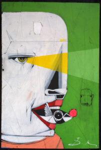 """""""Vision"""" """"Vision"""" by Michael Banks acrylic, mixed media on wood unframed 24"""" x 16"""" $400 #13032 Michael Banks acrylic, mixed media on wood unframed 24"""" x 16"""" $400 #13032"""